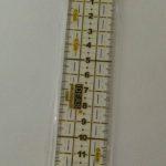 Régua de patchwork 3*15 cm