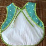 kit de costura babete da papa