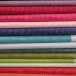 Tecido algodão petit dots