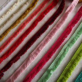 Franja de algodão 15 mm