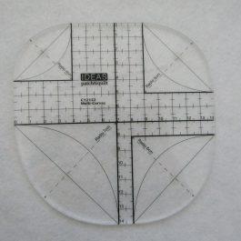 Régua multi curvas