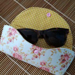 Kit costura bolsa de óculos