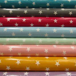 Plastificado estrelas grandes
