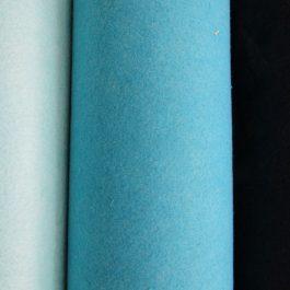 retalho feltro azul
