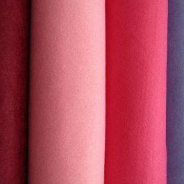 retalho feltro rosa claro