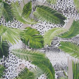 Resinado leaves & animal print