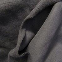 Malha de algodão cinza escuro
