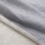 Malha de algodão cinza