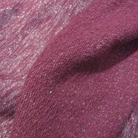 Malha de algodão bordaux