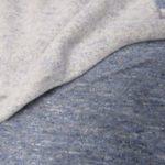 Retalho Malha de algodão azul