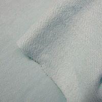 Malha de algodão verde água
