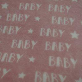 Retalho Polar baby rosa