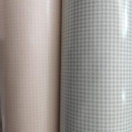 Tecido plastificado quadrados