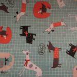 Tecido plastificado Dogs
