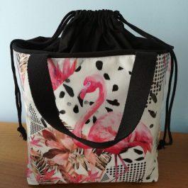 Lancheira Flamingo Rosa
