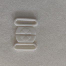 fecho plástico- fatos banho branco
