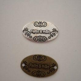 Etiquetas metal feito à mão