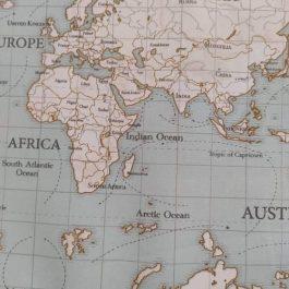 Tecido mapa