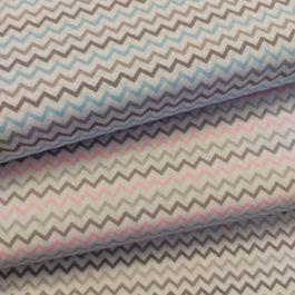 Tecido chevron colorido