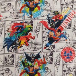 Tecido Marvel