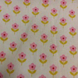 Tecido raspberry Flower