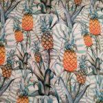 Tecido plastificado ananases