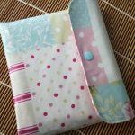Tecido plastificado patch rosa