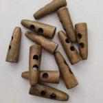 Botões madeira