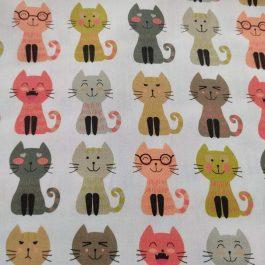Tecido Gatos