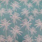Tecido plastificado palmeiras