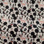 Tecido plastificado Mickey