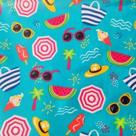 Tecido plastificado summer