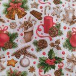 Tecido Natal