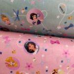 Tecido plastificado princesas Disney