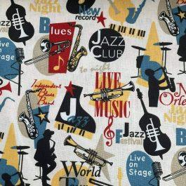 Tecido Jazz